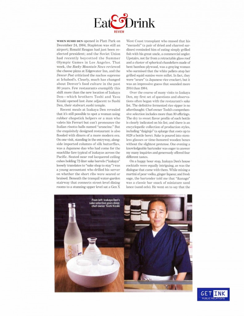 5280 Magazine February 2014 page1