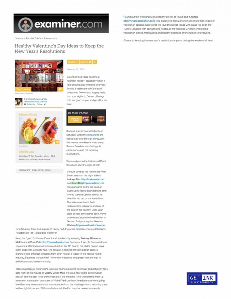 Examiner.com Sushi Den