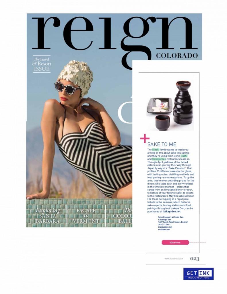 Reign Magazine April 2014