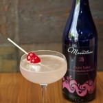 Tanuki Martini with Plum Sake